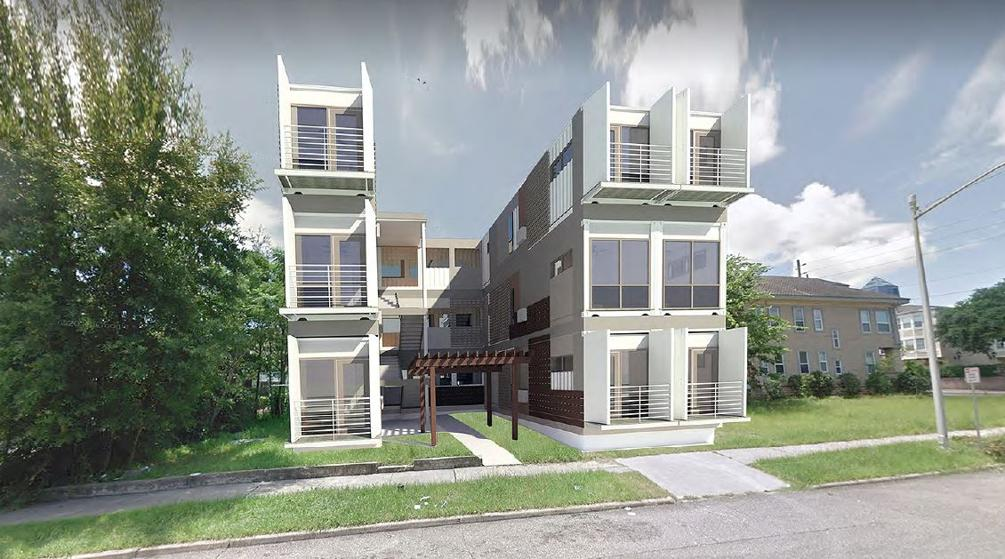 Shipping Container Apartments Proposed for Downtown Jacksonville